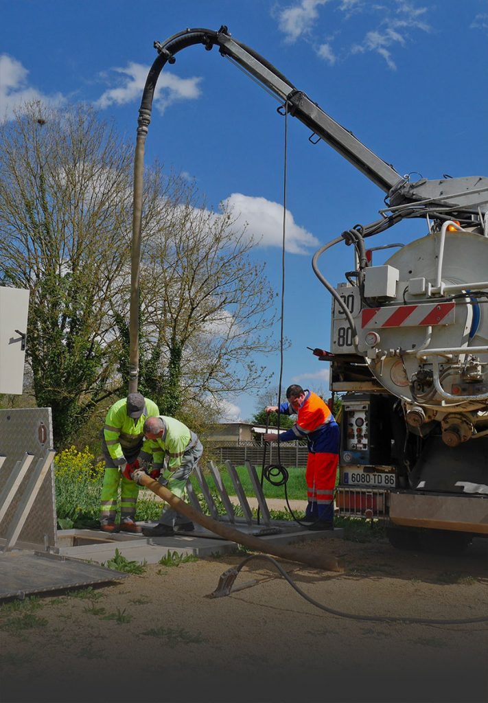 Intervention de maintenance réseau pluvial